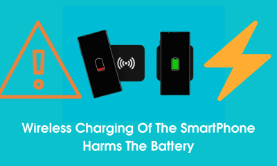 Wireless Charging Of The Smartphone Harms The Battery
