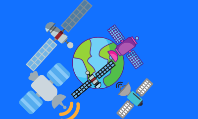 Too Many Satellites - Why There Must Finally Be Traffic Rules For Space