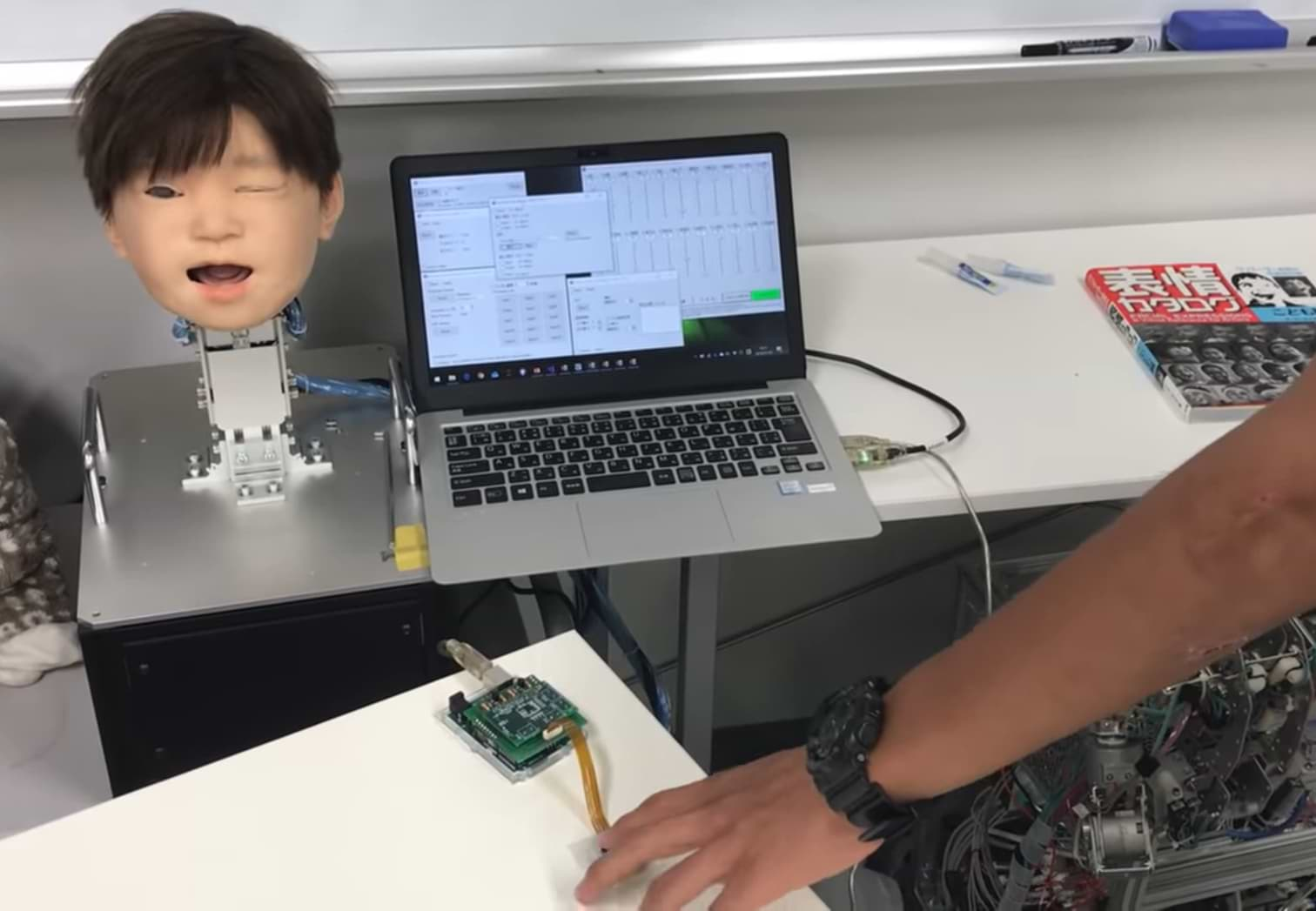 """A Robot With A """"child's Face"""