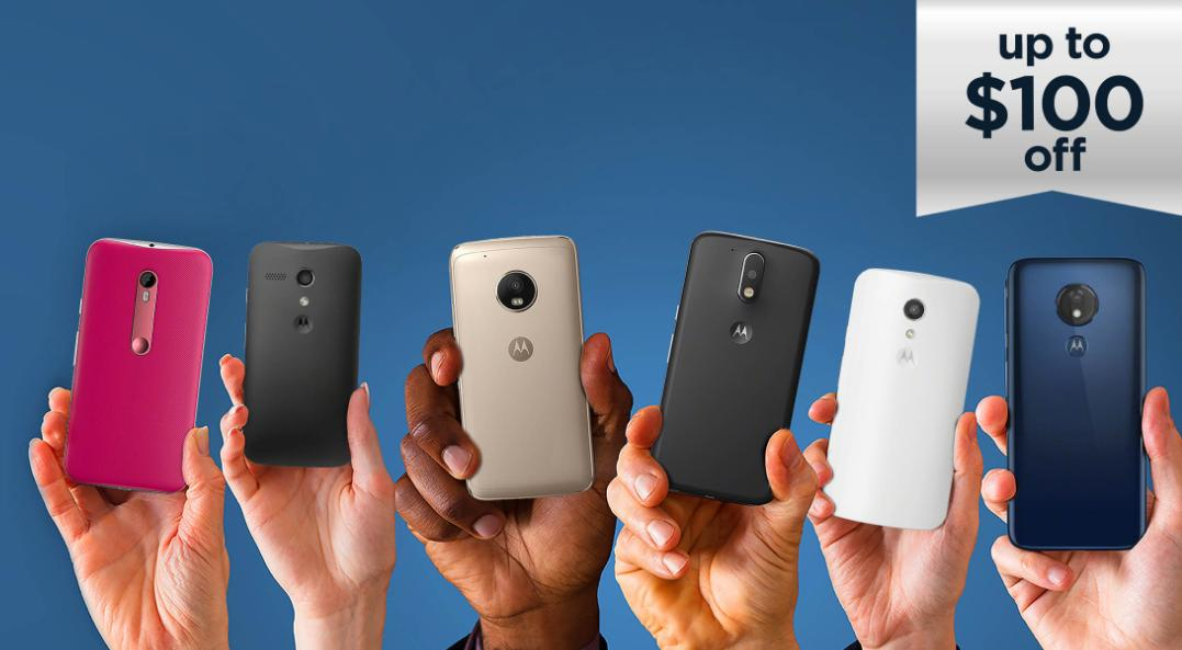 Motorola's Moto G Series Reaches 100 Million Sales and Up To $100 Off