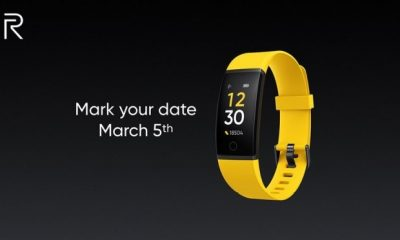 The Realme Smart Bracelet Will Be Presented On March 5