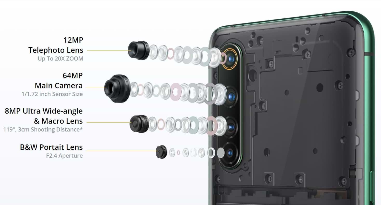 Realme X50 Pro अपनी विशेषताओं के रूप में प्रभावशाली है 2