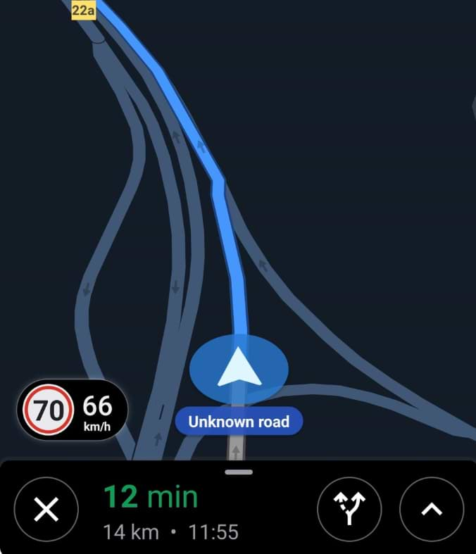 Google Now Alerts You To Speed Limits In Maps
