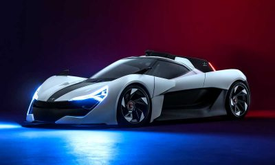 "The Apex AP-0 is A 650HP ""Featherweight"" Electric Supercar With A Formula 1 Inspired Design"