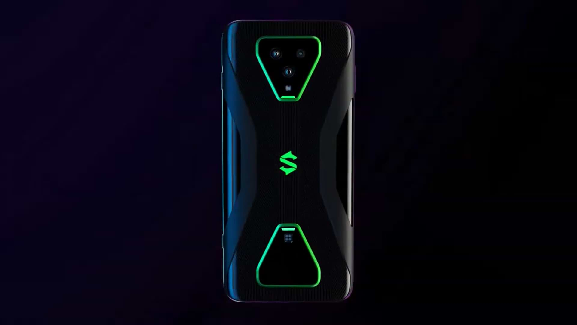 The New Xiaomi Black Shark 3 Gamers Phones Have 5g, Liquid Cooling And Two Built-in Triggers