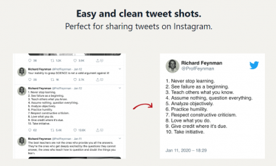 This Website Will Help You Share Screenshots Of Your Tweets On Instagram Like A Professional