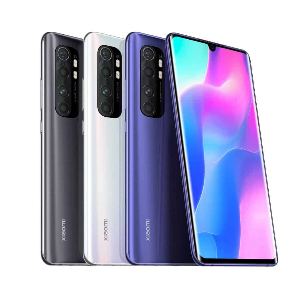 Xiaomi Launches Mi Note 10 Lite With Quad Camera