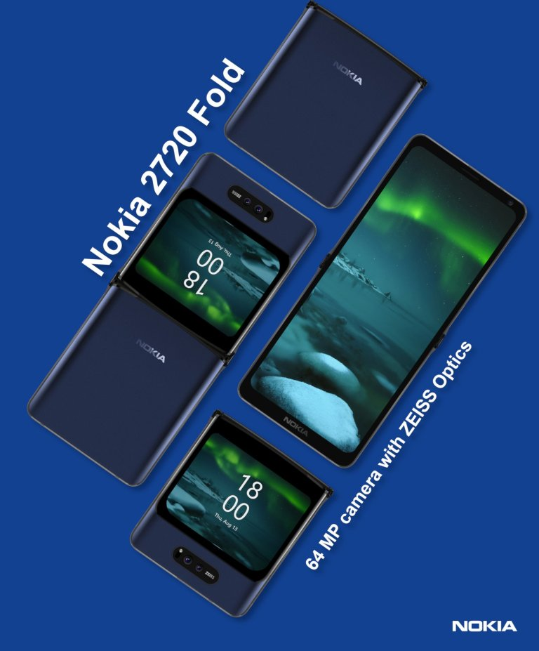 Nokia With Foldable Screen Rumors Say Yes!