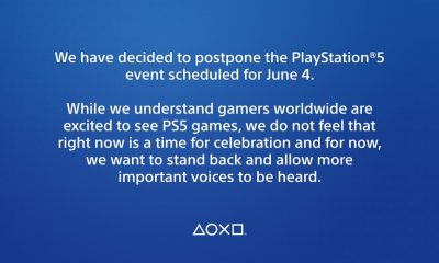 Sony Postpones Playstation 5 Game Presentation Event