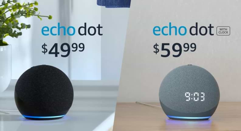 Amazon Launches New Echo Dot with a Shape Like a Ball