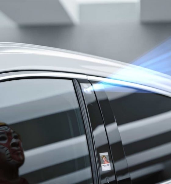 In this new car you don't need keys to open its doors, just your face and its Face ID
