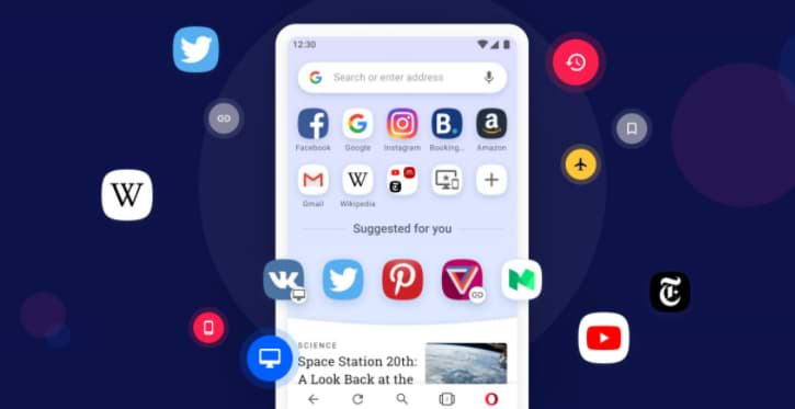 Opera 60 for Android renews the data synchronization system