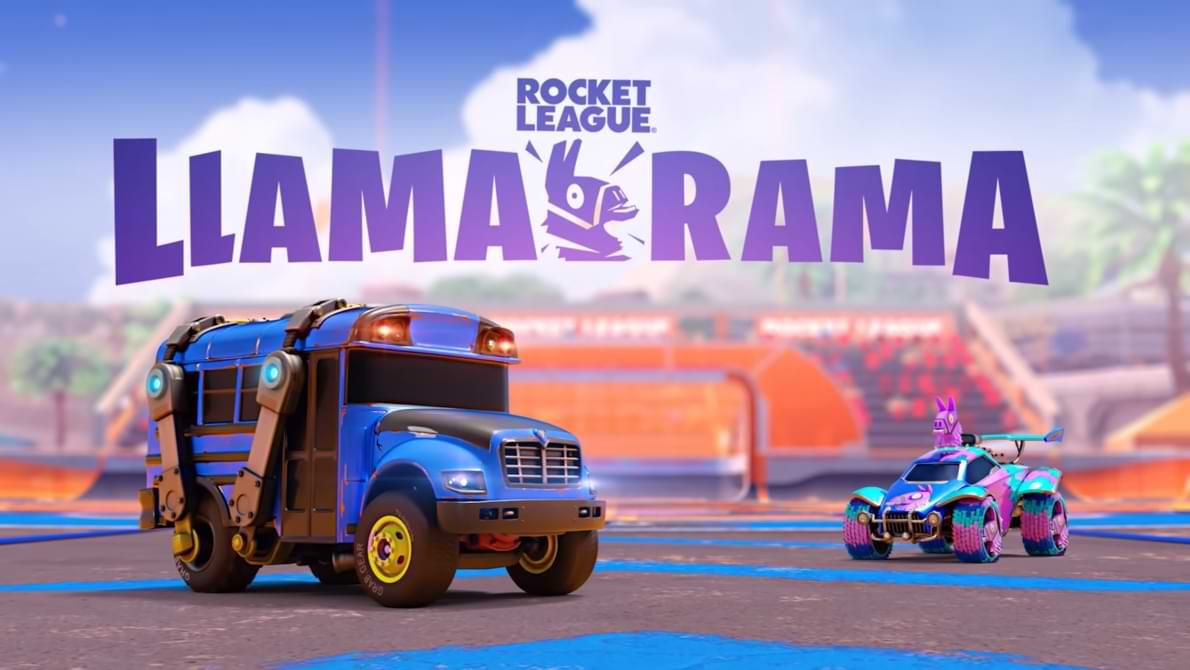 Rocket League Collaborates with Fortnite to Host the Llama-Rama Event