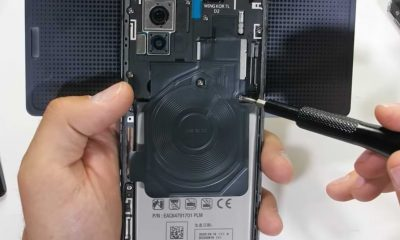 Seeing the Inside Components of the LG Wing Smartphone and How the Hinges Work
