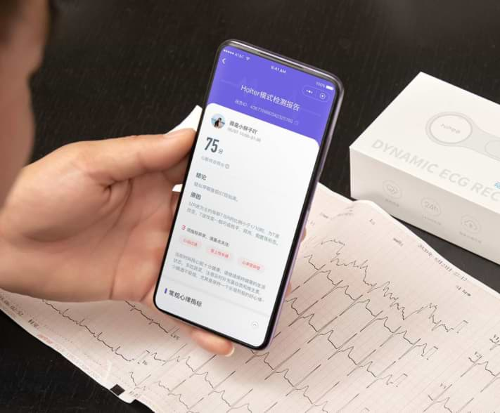 Xiaomi sells a tiny Holter that analyzes heart activity 24 hours and connects to mobile