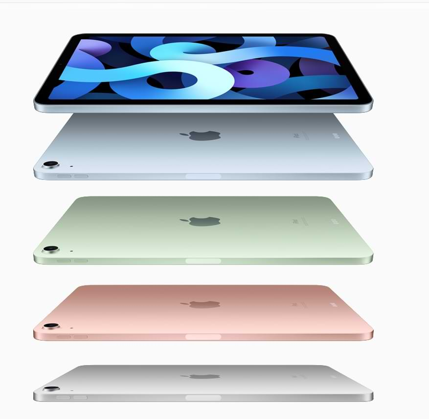 Apple Announces New iPad Air, Powered by A14 Bionic