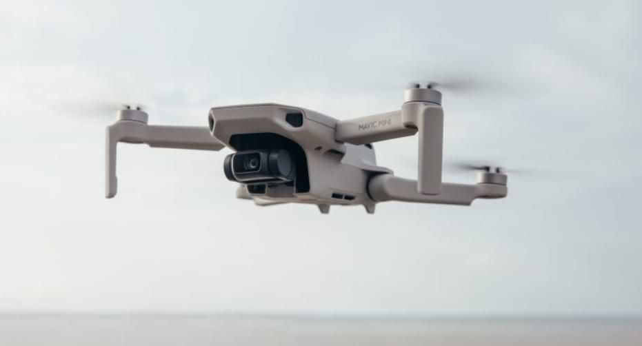 DJI Mavic Mini 2 on video and technical specification of the drone
