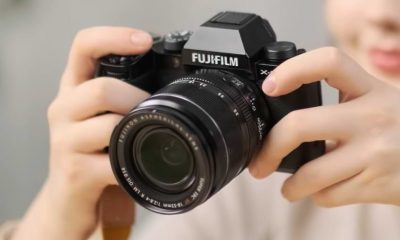 Fujifilm Launches X-S10 Camera with In-Body Stabilization