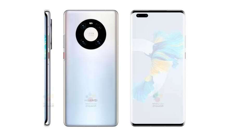 Here Are Leaked Photos & Specifications of Huawei Mate-40 Pro, Released October 22