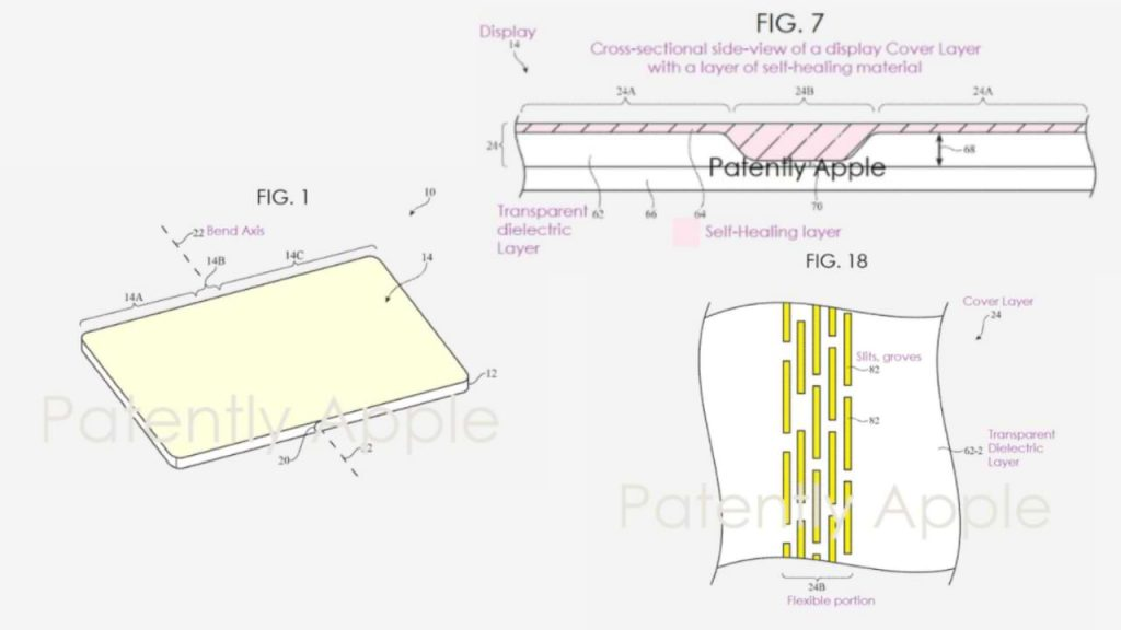It turns out that Apple wants to make a foldable iPhone with a 'self-healing' screen