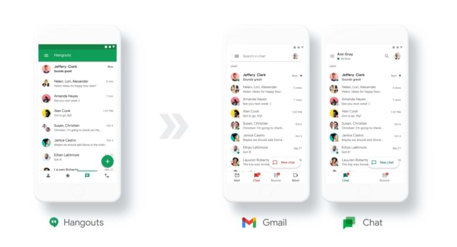 The Google Chat Application Will Be Free Starting in 2021