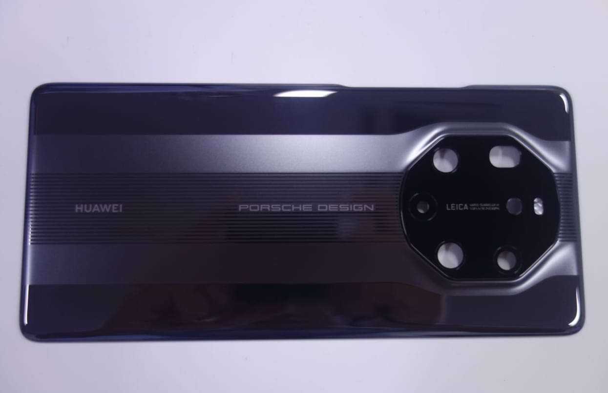 The rear view of the Huawei Mate 40 RS Porsche Design smartphone leaks