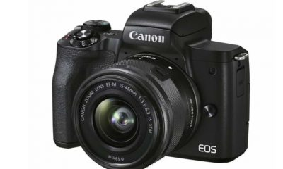 This is the Canon EOS M50 Mark II Which Comes With Several Improvements