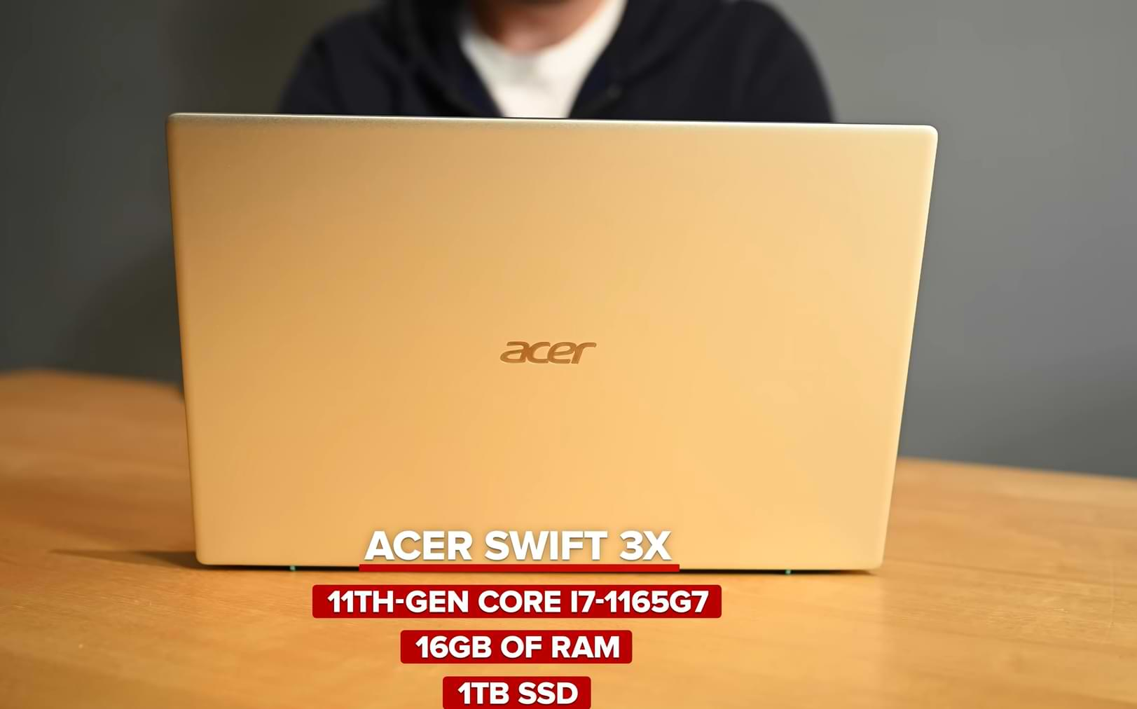 This is the latest Acer 2020 line of laptops with Intel Tiger Lake CPUs