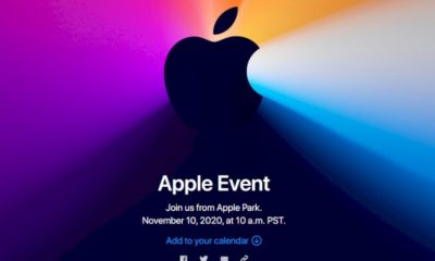 Apple Will Announce 'One New Thing' at the Event on November 10