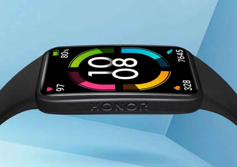 Honor Band 6 officially. An interesting band with a large screen