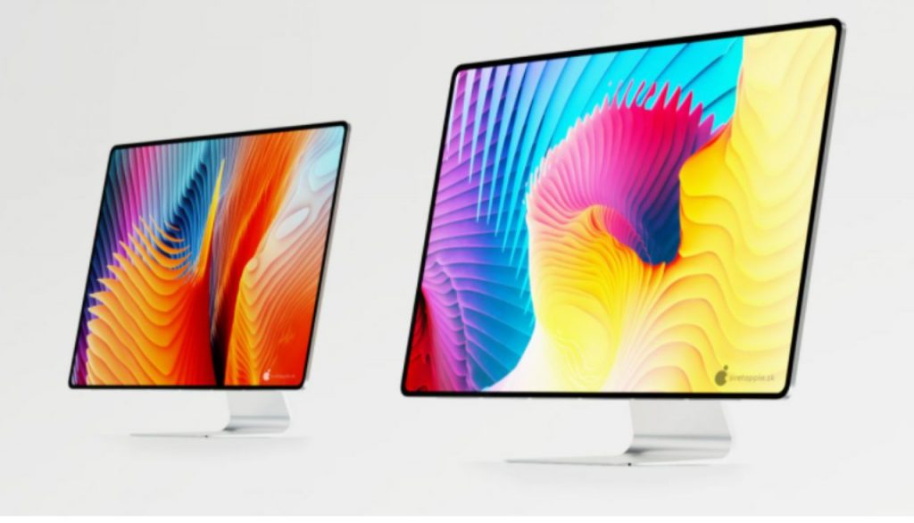 Like This Concept Rendering iMac 2021 with New Apple Silicon Processor