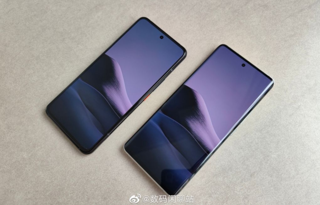 Mi 11 Pro and Xiaomi Mi 11 in the first photo