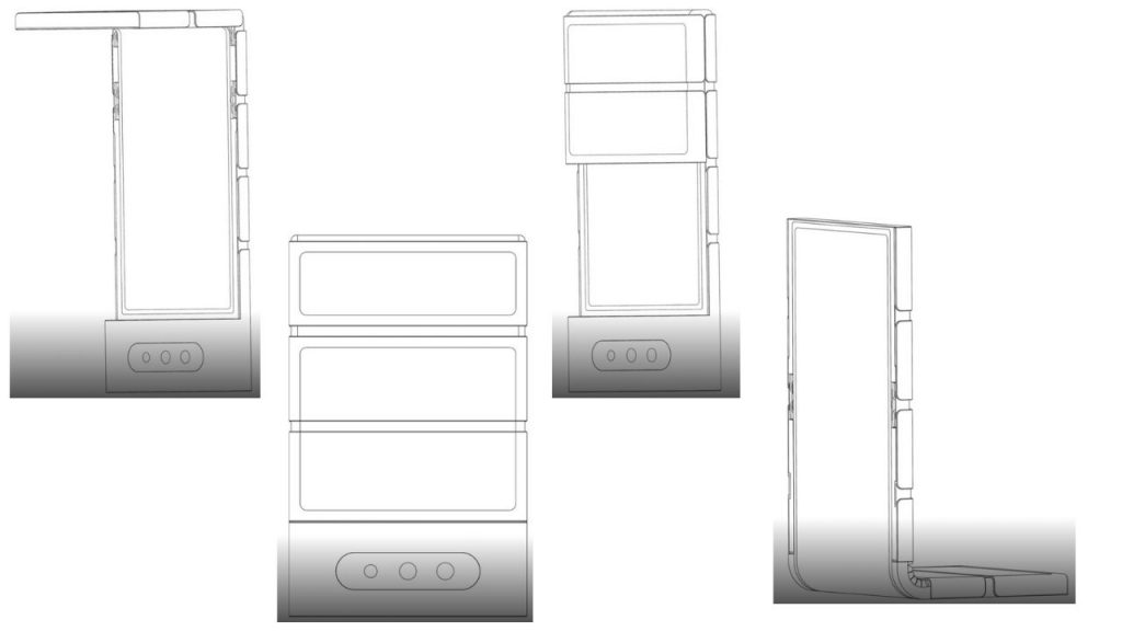 OPPO Registers a Foldable Smartphone Patent with a Quite Strange Shape