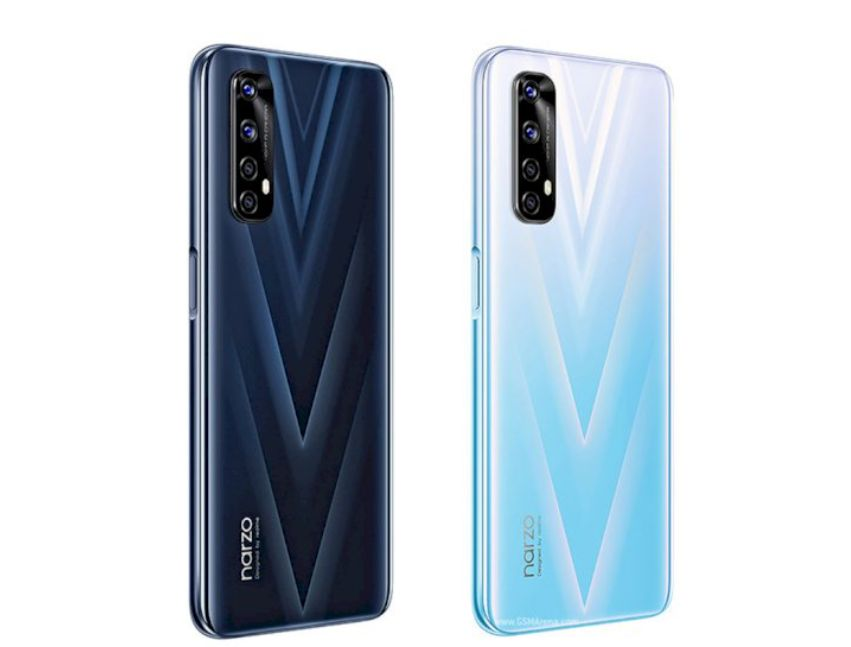 Realme Narzo 20 That Can Play Heavy Games With Right Align Option