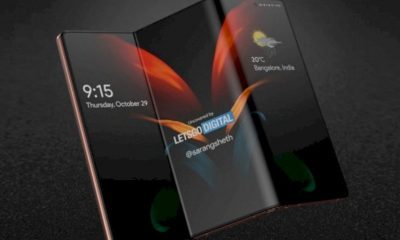 Samsung shows off its new roll screen and foldable screen smartphone concept