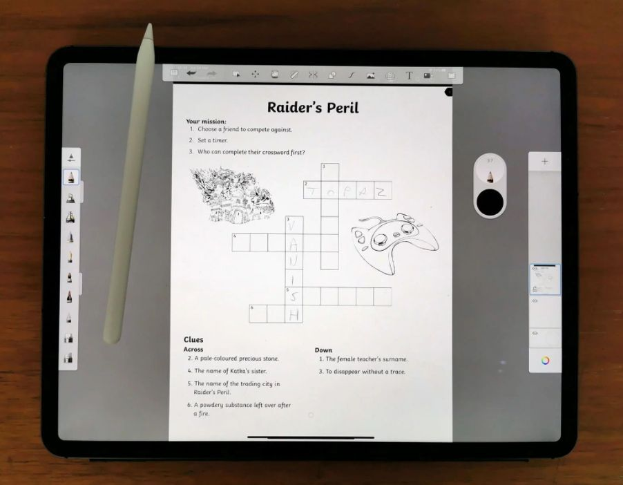 How to draw or write on a PDF