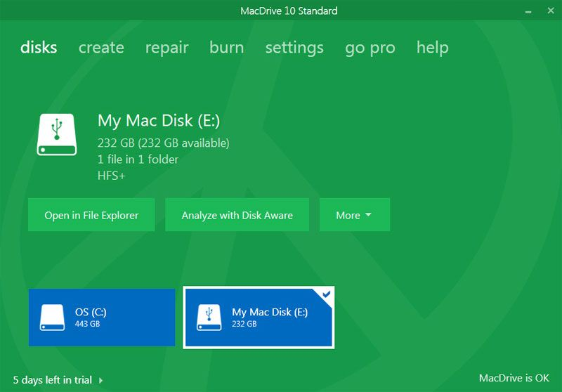 How to open Mac files on Windows PC for free