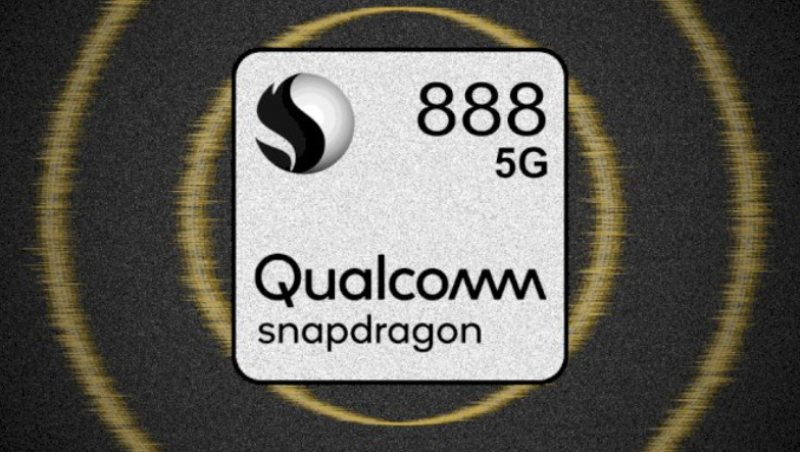 This is the first Android smartphone to use the Snapdragon 888 chipset
