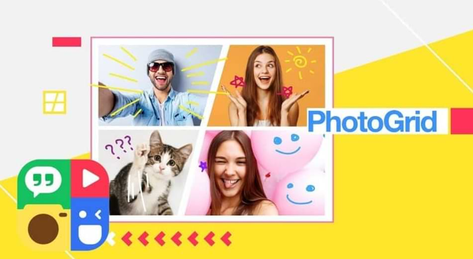 How to use PhotoGrid to create collage and edit photos from my Android