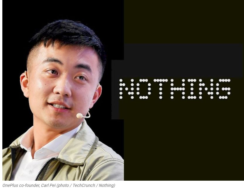 OnePlus founder, Carl Pei officially sets up a company with the name Nothing