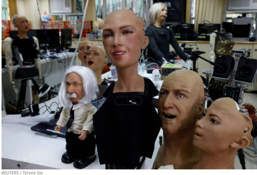 PHOTO Humanoid Robot Will Be Mass Produced