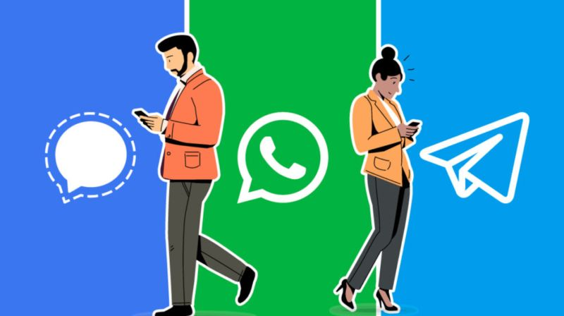 Signal vs Telegram vs WhatsApp Which is better Comparison, advantages, and disadvantages