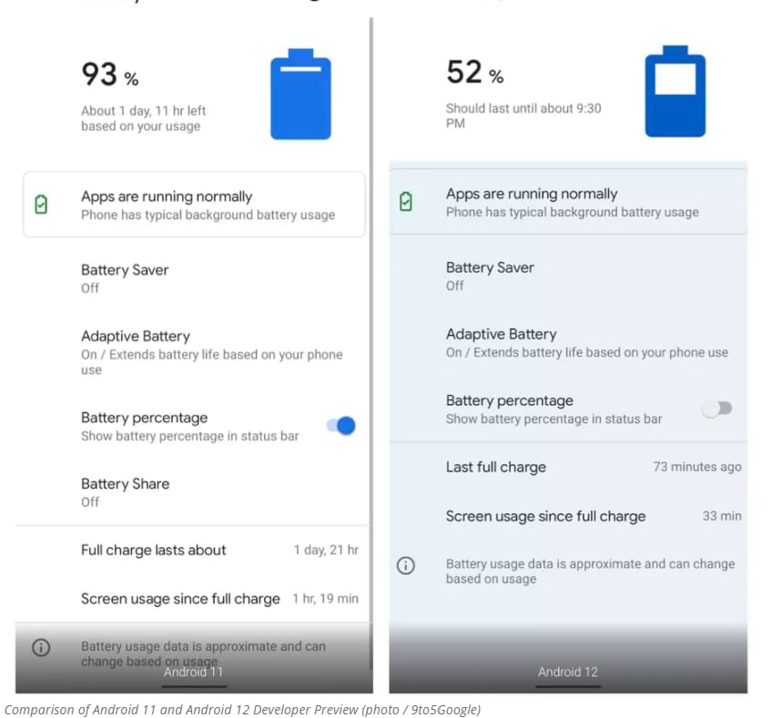 Android 12 Developer Preview Officially Released, This Is What It Looks Like