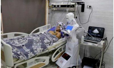 Cool! Nigerian Students Build Robots to Care for Covid-19 Patients