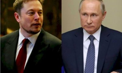 Elon Musk Invites Vladimir Putin to Chat Through the Clubhouse Application