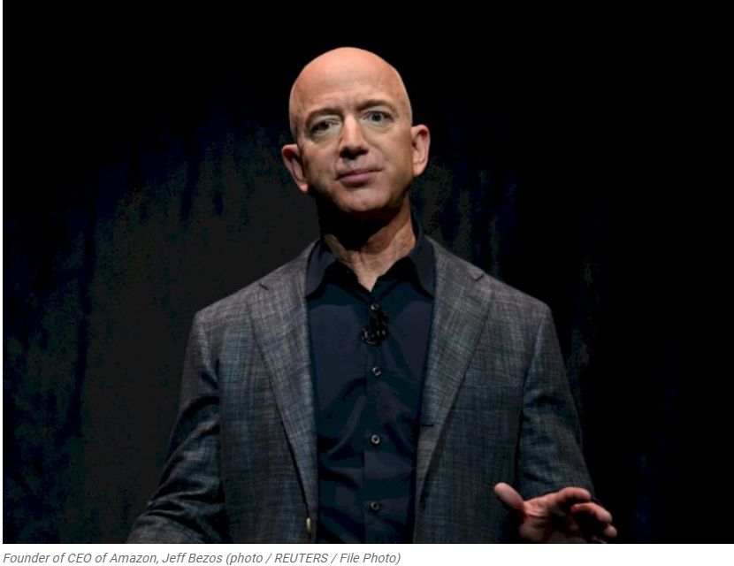 Jeff Bezos Resign from His Position as CEO of Amazon at the End of This Year