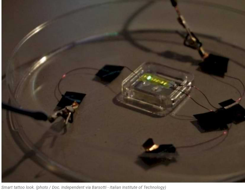 This Researcher Successfully Created 'Smart Tattoo', Can Emit Light