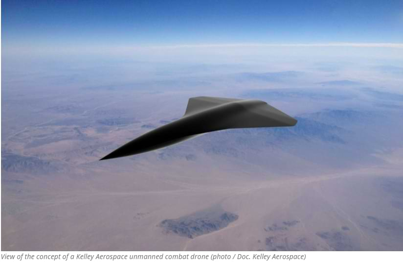This Unmanned Combat Drone Can Go Up To Speeds of 2,414 km h