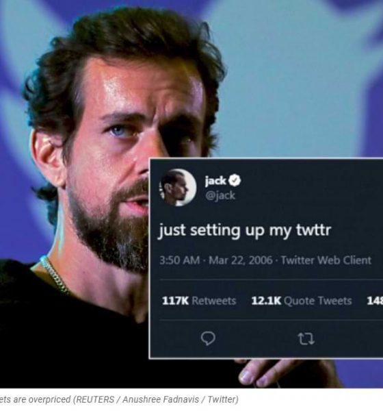 Unbelievable! Twitter CEO Jack Dorsey's first tweet was offered US $ 2.5 million