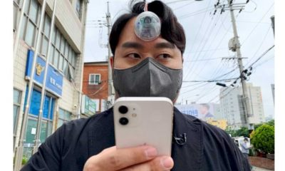 Introduced, 'Third Eye' for 'Phone Zombies' Steals Attention
